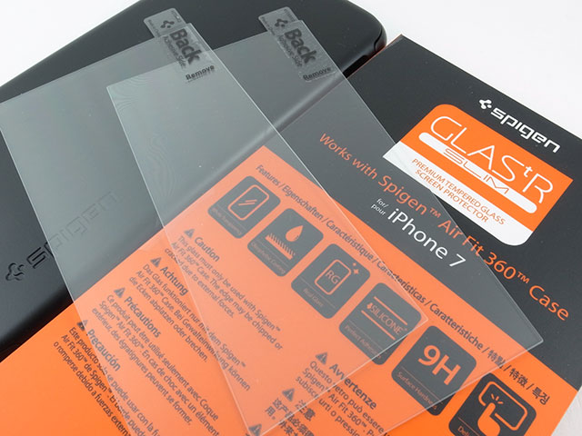 Spigenシンフィット360(エアーフィット360)iPhone 7ケース