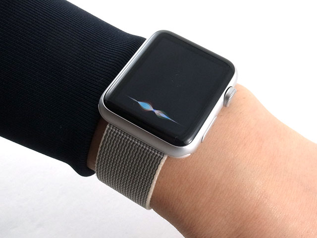 Apple WatchのHey Siri