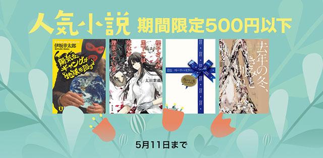 人気小説 - 期間限定500円以下