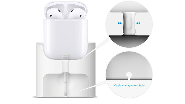 elago CHARGING STATION for AirPods case