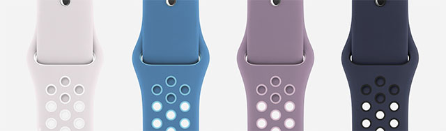 "Apple Watch Nike Sport Band ""Day to Night"" collection"