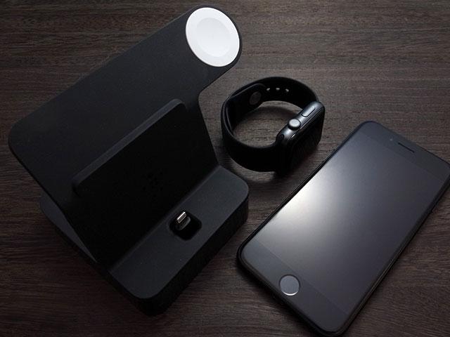 ベルキン Apple Watch + iPhone用 PowerHouse 充電ドック ブラック
