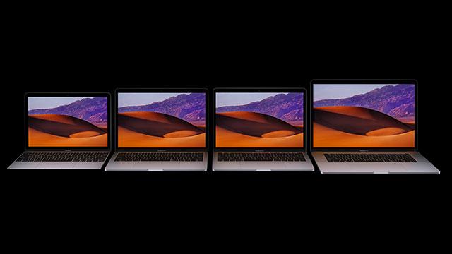 MacBook、MacBook Pro