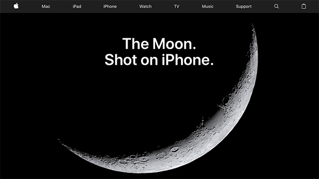 Moon Photography - Apple (AE)