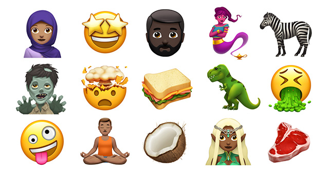 Apple previews new emoji