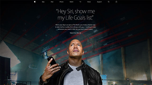 iPhone 7 — The Rock x Siri Dominate the Day