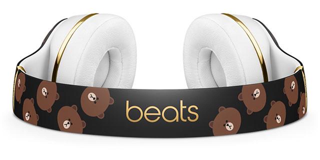 Beats Solo3 Wirelessオンイヤーヘッドフォン - LINE Friendsスペシャルエディション