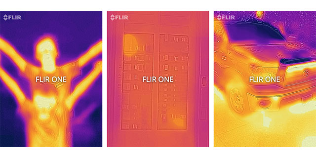 FLIR ONE for iOS Personal Thermal Imager