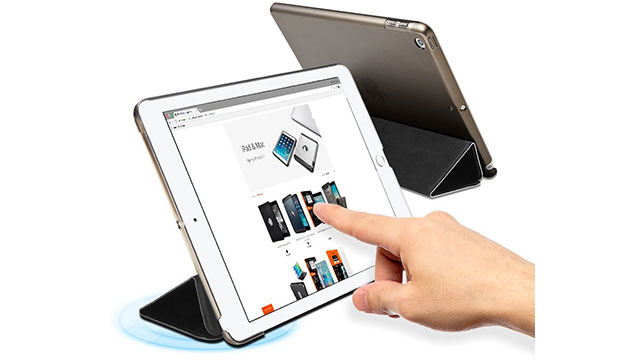 Spigen iPad 9.7(2017)ケース スマートフォールド ケース