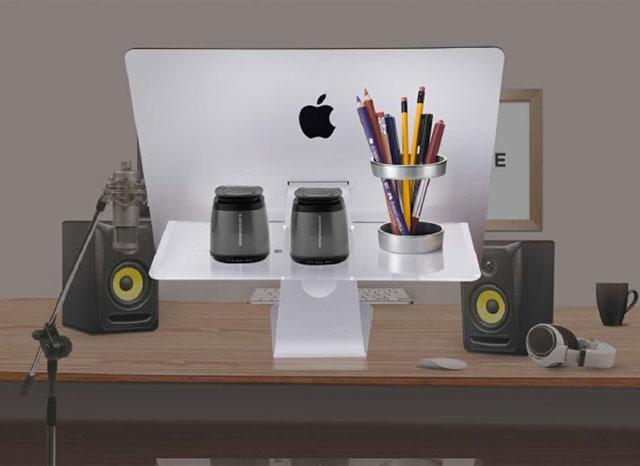 21.5インチ iMac専用 背面アクリルスタンド