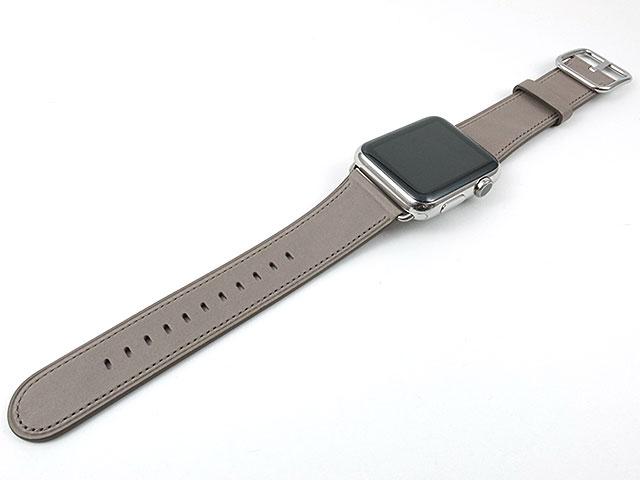 Apple Watch用クラシックバックル交換バンド