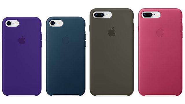iPhone 8 / 7シリコーンケース・iPhone 8 Plus / 7 Plusレザーケース