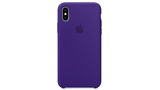 iPhone Xシリコーンケース