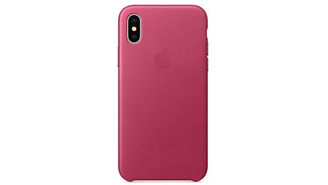 iPhone Xレザーケース