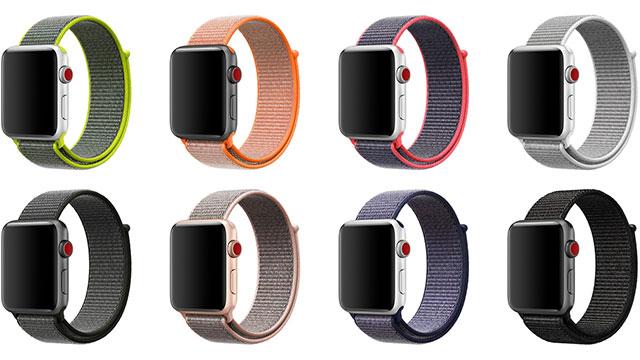 Apple Watch スポーツループ