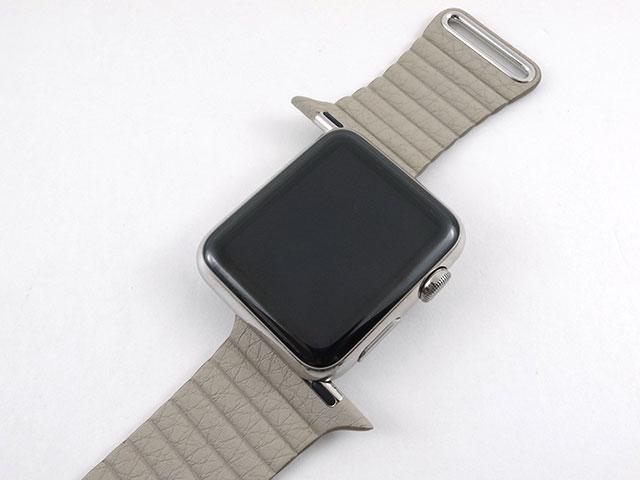 Apple Watch交換バンド レザーループ