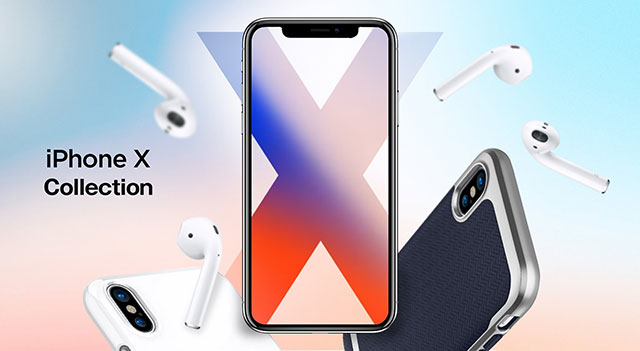 Spigen iPhone Xケース
