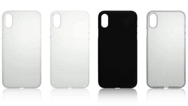 パワーサポート Air Jacket for iPhone X(