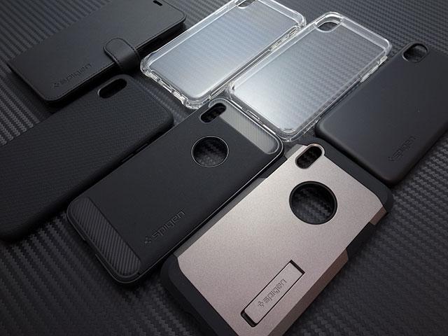 SpigenのiPhone X用ケース