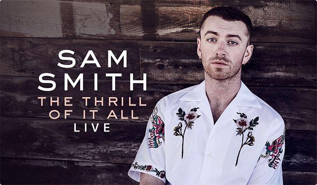 サム・スミス The Thrill of It All ライブ