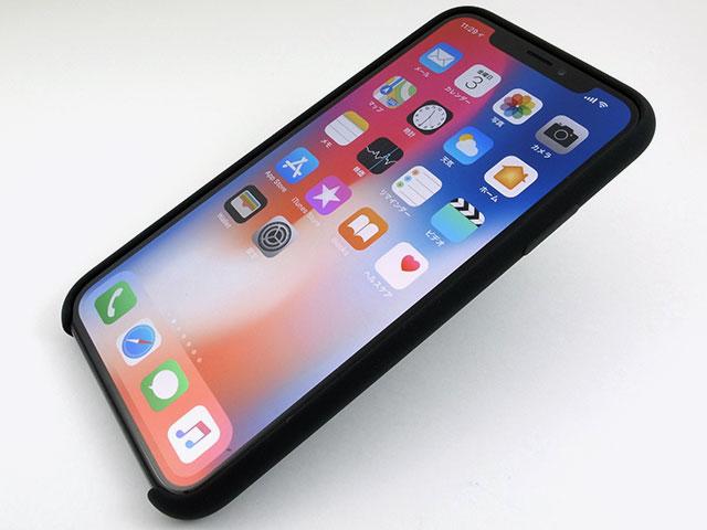 Apple iPhone Xシリコーンケース
