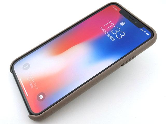 Apple純正 iPhone Xレザーケース