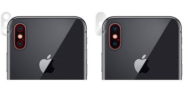 OverLay Brilliant for iPhone X リアカメラ