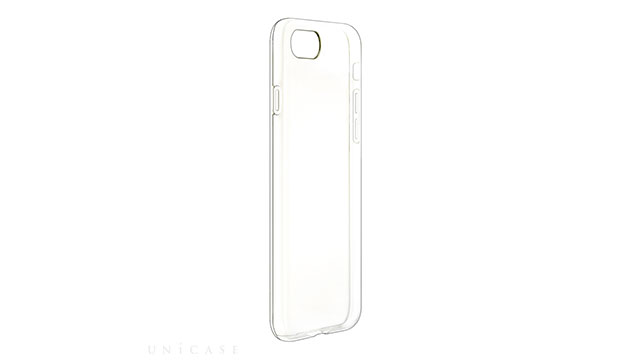 【iPhone 8/7 ケース】クリスタルスリムソフトケース クリスタルクリア