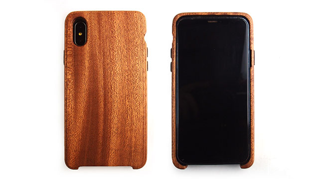 LIFE iPhone X用木製ケース