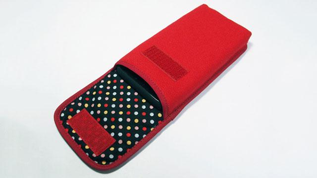 suono iPhone X用ケース タテ型」