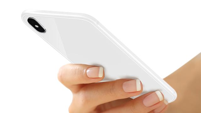 iPhone X用ナチュラルフィルム