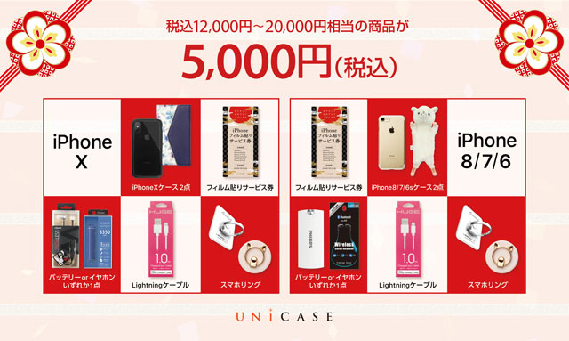 UNiCASE HAPPY BAG(福袋)
