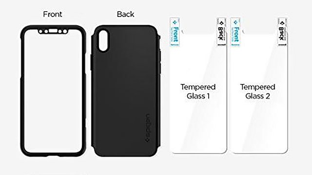 Spigen シン・フィット360 for iPhone X