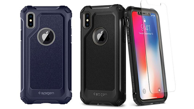 Spigen iPhone Xケース プロガード