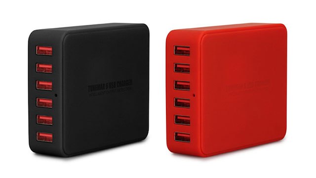 TUNEWEAR TUNEMAX 6USB CHARGER スマートUSB充電器