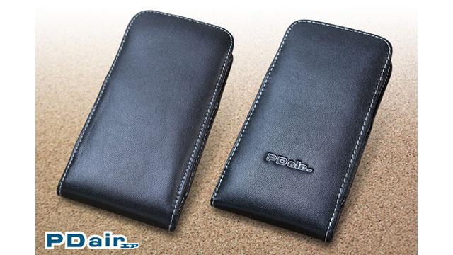 PDAIR レザーケース for iPhone X バーティカルポーチタイプ