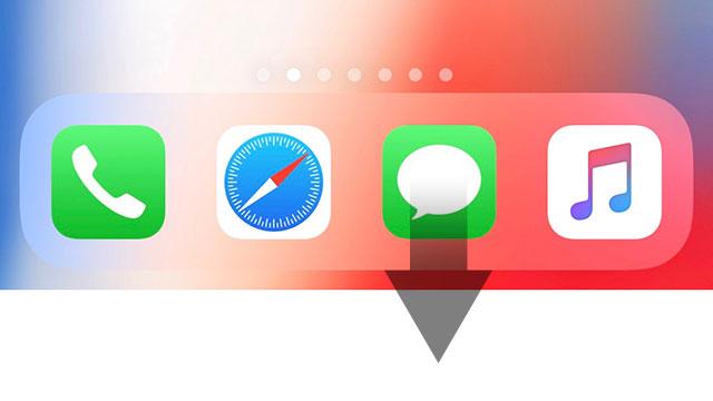 iPhone Xの簡易アクセス