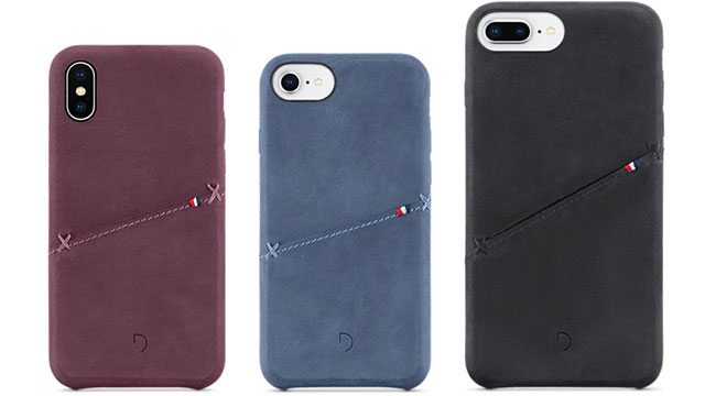 Decoded Leather Snap-On Case for iPhone X/8/8 Plus