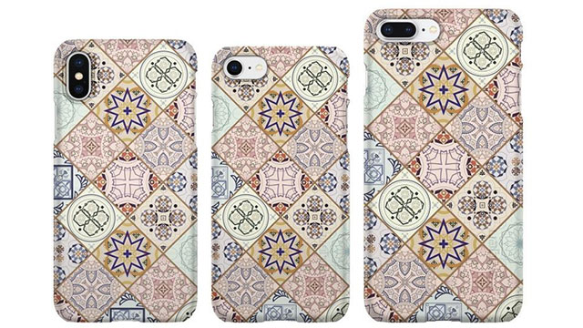 Spigen シンフィット Arabesque for iPhone
