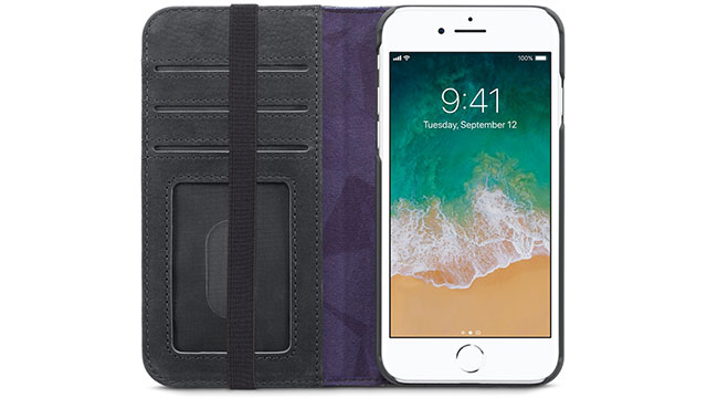Decoded Leather Wallet Case for iPhone 8