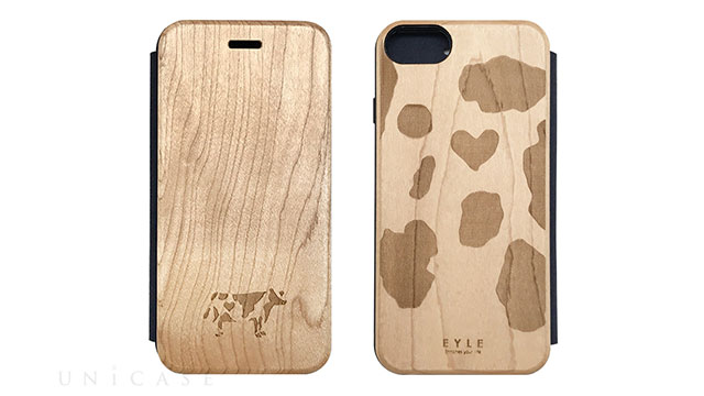 【iPhone 8/7/6s/6 ケース】Maple Flip Case (COW)