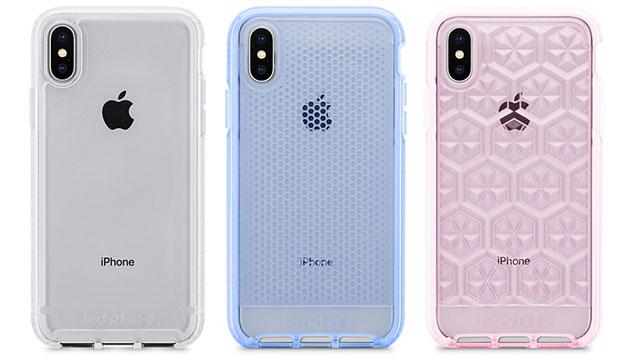 Tech21 Pure Clear/Evo Mesh/Evo Gem Case for iPhone X