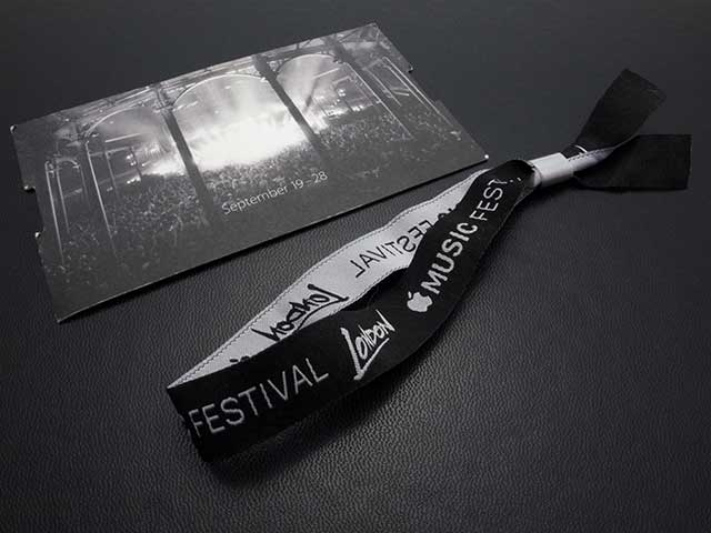 Apple Music Festival London リストバンド