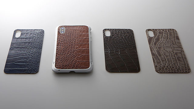 Deff Leather Panel for iPhone X