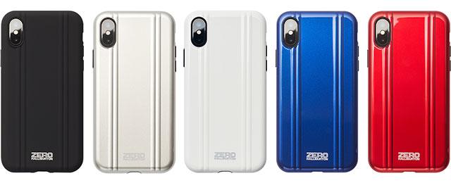 finest selection e2bd6 201ee 新製品】ゼロハリバートンのiPhone X用耐衝撃ケース - iをありがとう