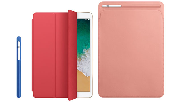 Apple Pencilケースと10.5インチiPad Pro用Smart Cover/レザースリーブ