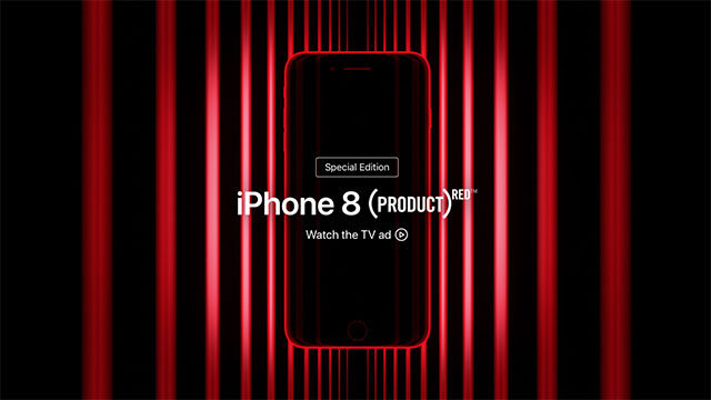 iPhone 8/8 Plus PRODUCT)RED Special Edition