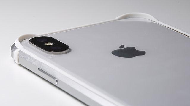Deff Aluminum&TPU Lightweight Bumper AERO for iPhone X