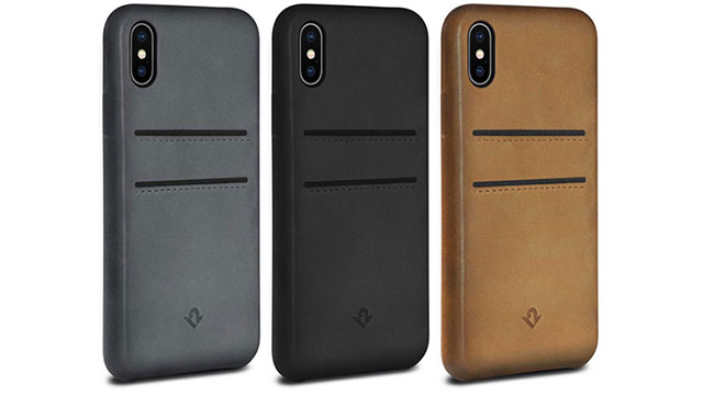 Twelve South Relaxed Leather for iPhone X