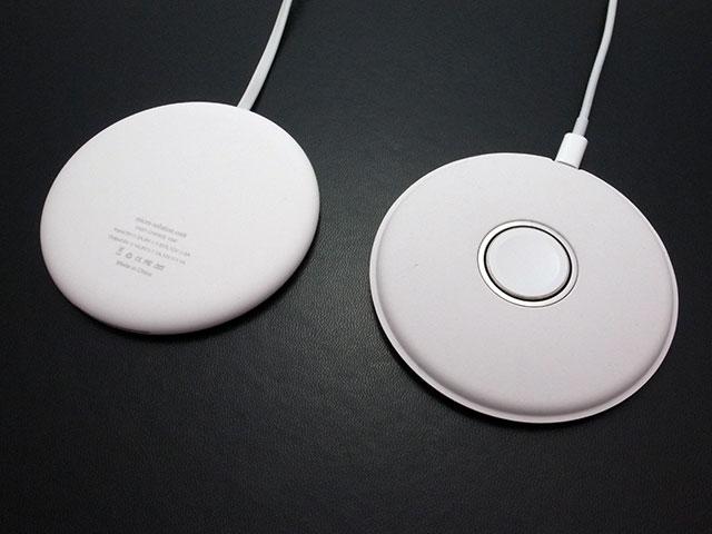 マイクロソリューション Smart Wireless Charge Qi ワイヤレス充電パッド info LED